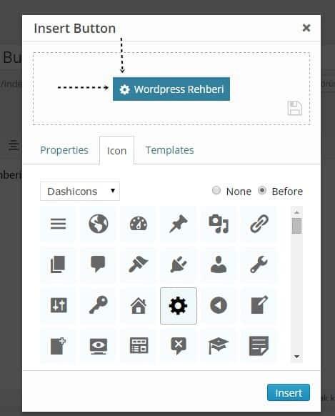 Wordpress buton ekleme eklentesi