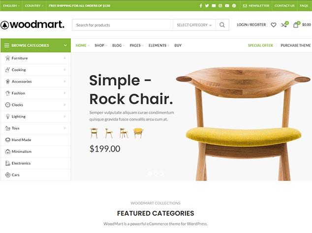 WoodMart - WordPress E Ticaret Teması