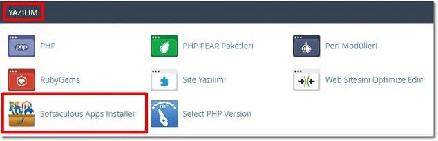 Softaculous Üzerinden WordPress Kurulumu - Apps Installer