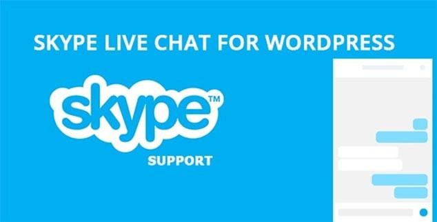Skype Live Chat - WordPress Chat Eklentisi