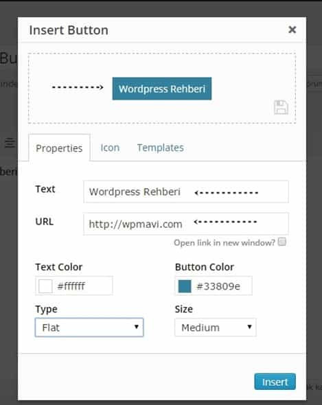 Wordpress buton ekleme - forget abouut shortcode buttons eklentisi