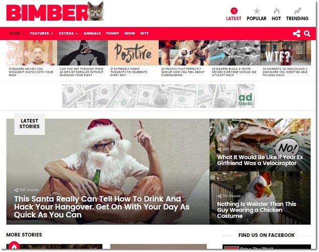 Wordpress Viral Tema - Bimber