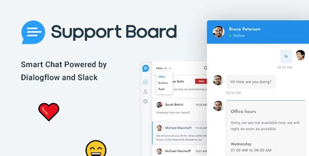 Chat Support Board - WordPress Canlı Destek Eklentisi