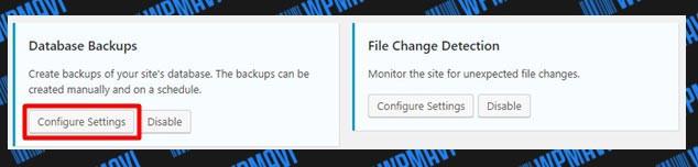 iThemes Security Database Backups Ayarları