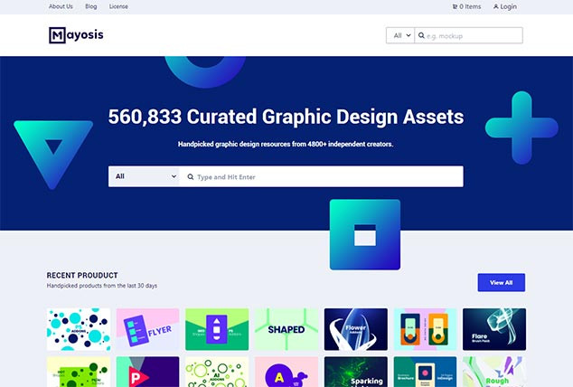 Mayosis - WordPress Ürün Tanıtım Teması