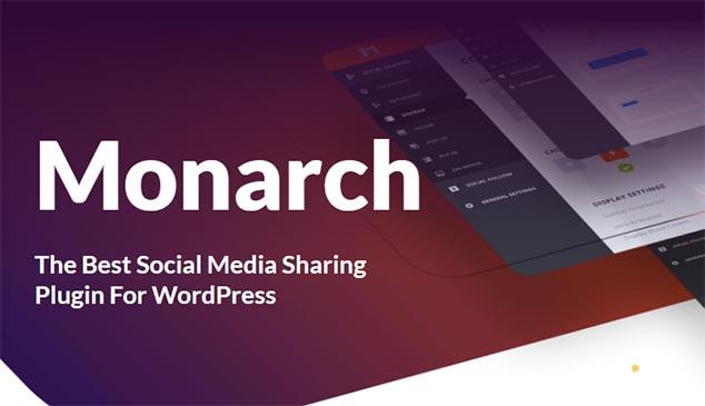 Monarch WordPress Sosyal Paylaşım Eklentisi