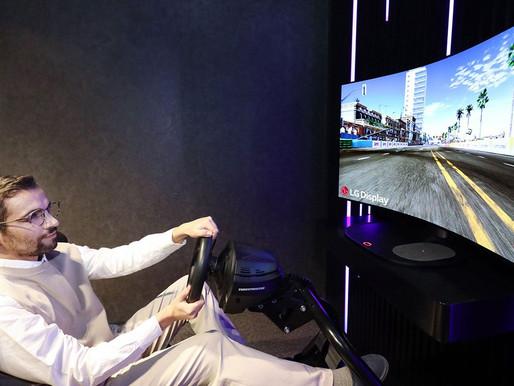 LG, CES 2021'de Bükülebilir OLED Oyuncu Monitörünü Sergileyecek