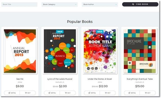 Wordpress E-Ticaret Temları - Bookie