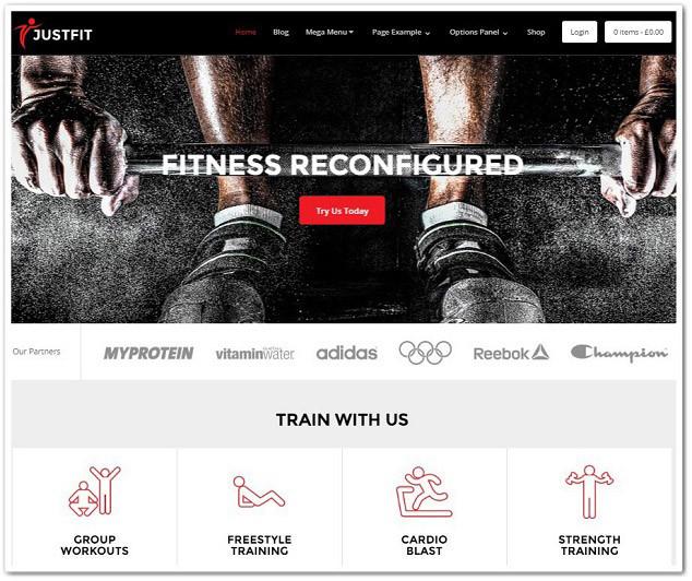 Wordpress spor salonu teması - wordpress fitness teması - wordpress gym teması
