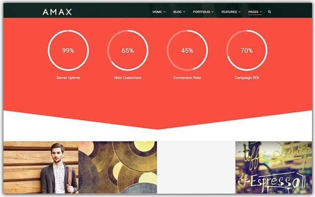 Amax - Seo Uyumlu Portföy Teması