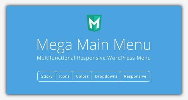 Mega Main Menu - WordPress Menü Eklentisi