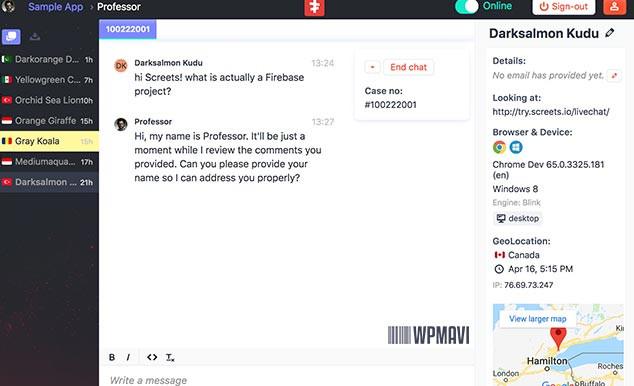LiveChat WordPress Canlı Destek Modülü Kontrol Paneli