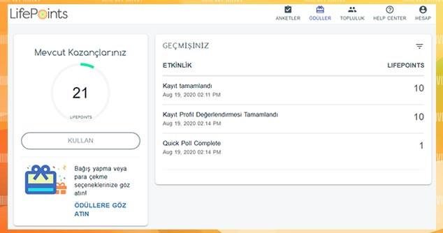 Online Anket Para Kazanma Sitesi LifePoint Paneli