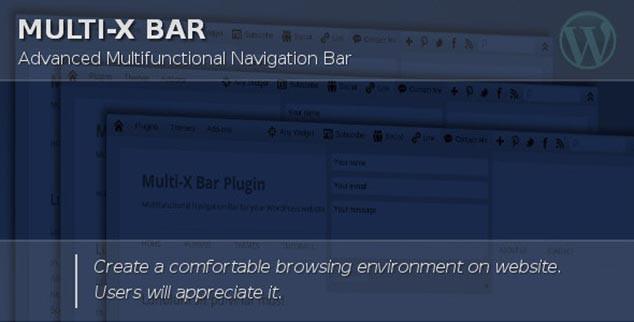 WordPress Sosyal Paylaşım Eklentisi Multi-X-Bar