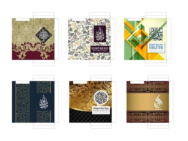 template design Sampul Raya