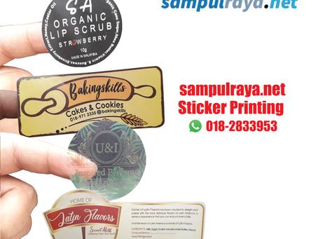 Jangan Salah Pilih Material Sticker Nanti Rugi.
