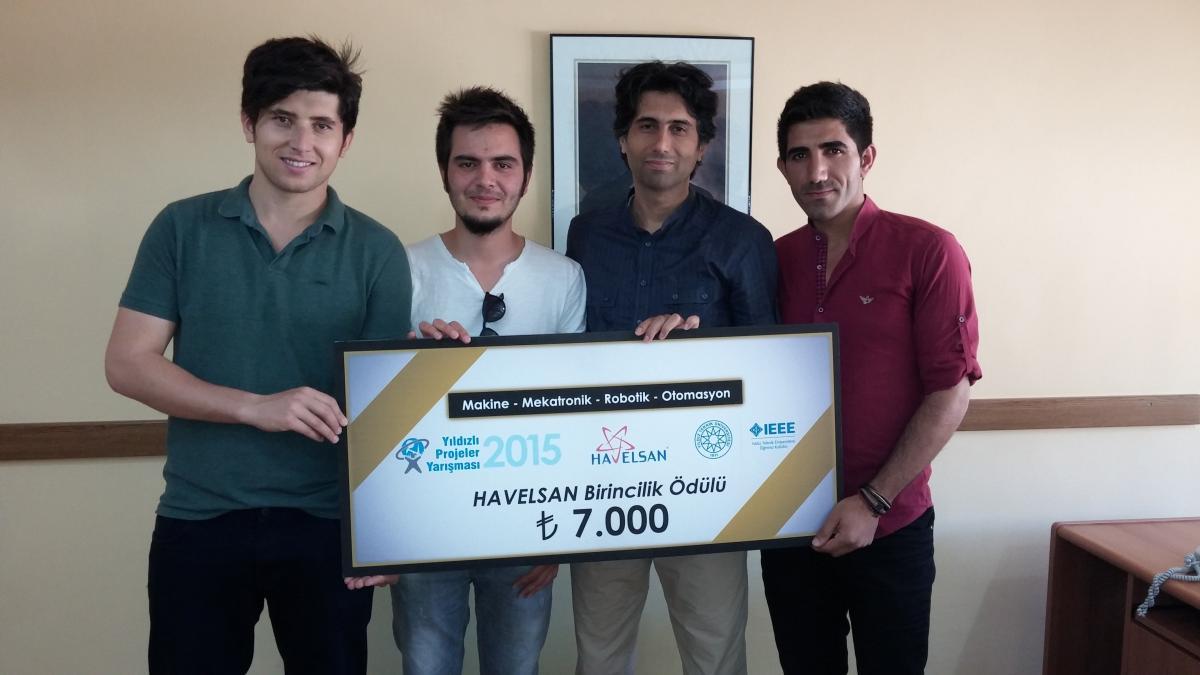 Yıldızlı Projeler Yarışması-2015