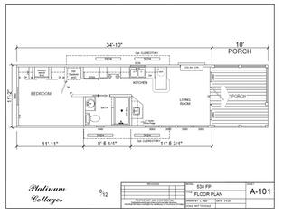 Beaumont - L-kitchen, porch and clerestories.