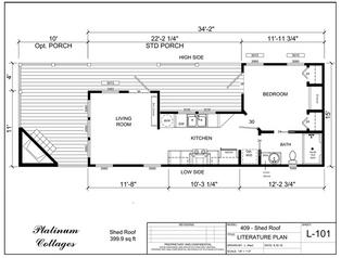 Corner kitchen with 2 window box bay - Loft.