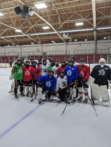 Cambridge Hockey Players
