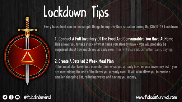 What Can You Do To Improve Your Lockdown ?