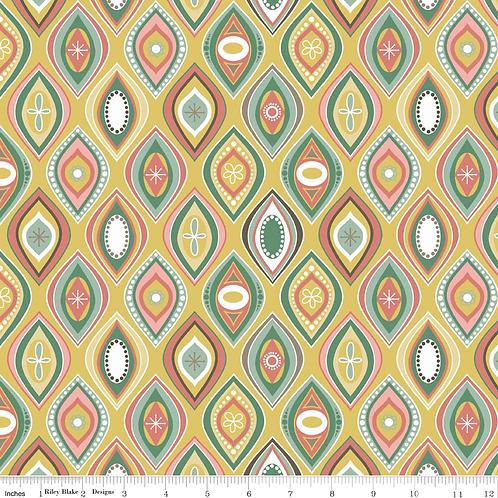 Riley Blake Designs - Valencia -Yellow