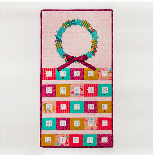 Christmas Cheer Advent Calendar by Tied with a Ribbon