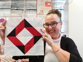 Darvanalee Designs Studio | 2019 Foundation Paper Piecing Block of the Month | Block #7