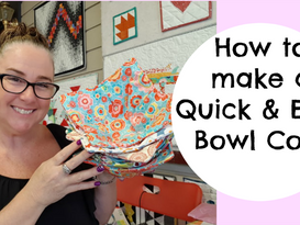Darvanalee Designs | How to make a Quick and Easy Bowl Cozy | For Any Size Bowl