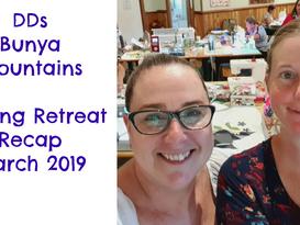Darvanalee Designs Studio | DDs Bunya Mountains Sewing Retreat March 2019 Recap