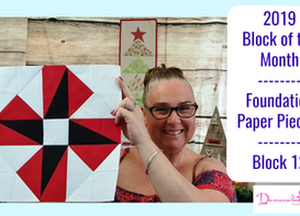 DDs 2019 Block of the Month Block #12
