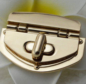 55mm Hinged Twist Lock - Silver