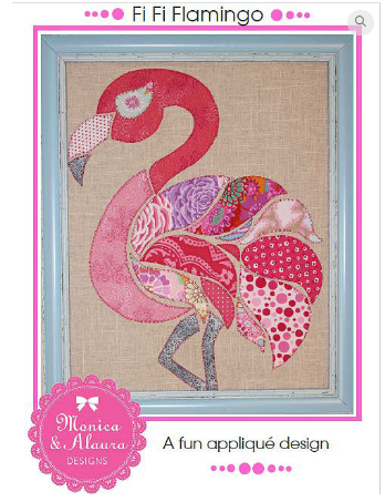 Fi Fi Flamingo- Monica Poole Designs