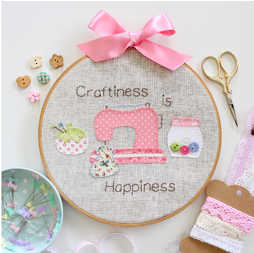 Craftiness is Happiness by Molly and Mama