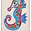 Thumbnail: Seanna the Seahorse - Designed by Pattern Poole