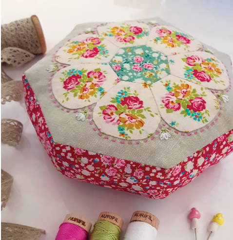 Blossom Pincushion By Lilabelle Lane Creations