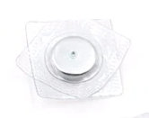 PVC Invisible Hidden metal magnetic Snaps button