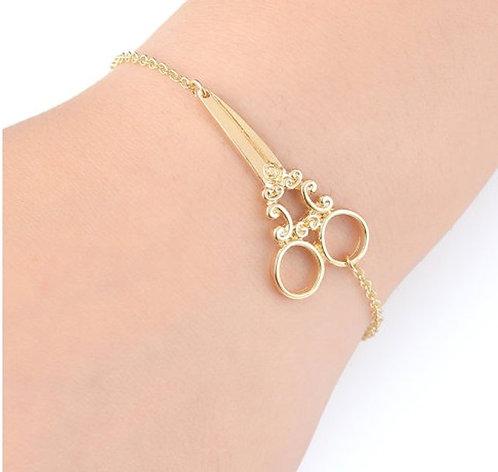 copy of Scissors Bracelet - Gold