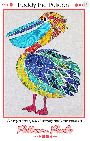 Paddy the Pelican - Designed by Pattern Poole