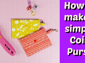 How To Make A Simple Coin Purse |
