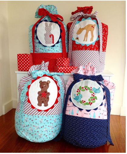 Christmas Toy Sacks By Clares Place