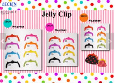 Lecien Jelly Clip Small 10cm, Medium 14cm, Large18cm -- Variety Colours & Sizes