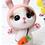 Thumbnail: DIY Mini Wool Felt Animals - Rabbit Cat