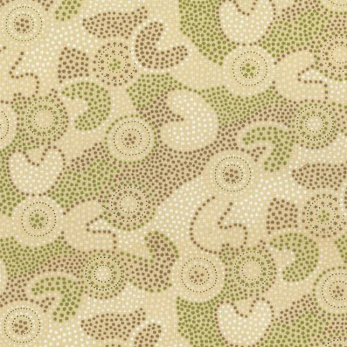 Nutex Fabrics Icons - SPOT GOOLOO COL. 102 CREAM