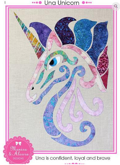 Una Unicorn- Monica Poole Designs