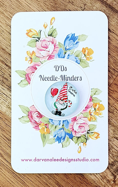 Needle Minder - Candy Cane Gnome