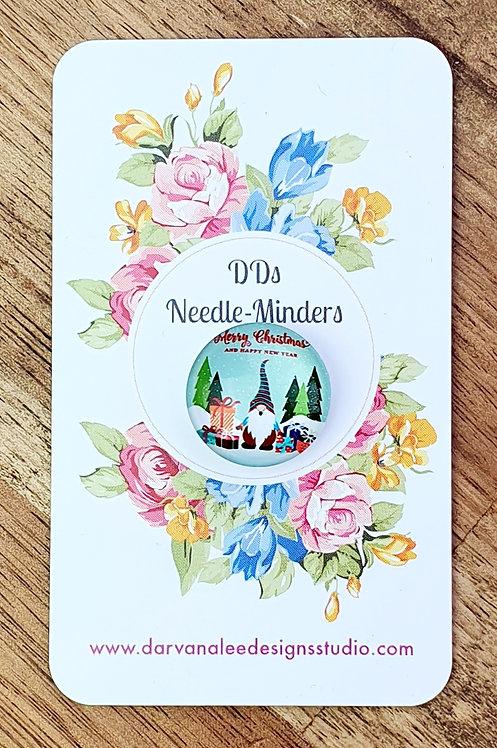 Needle Minder - Merry Christmas Gnome