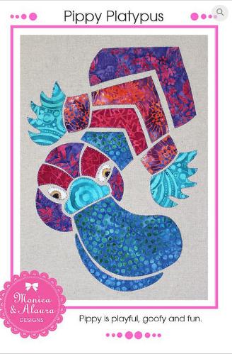 Pippy Platypus - Monica Poole Designs