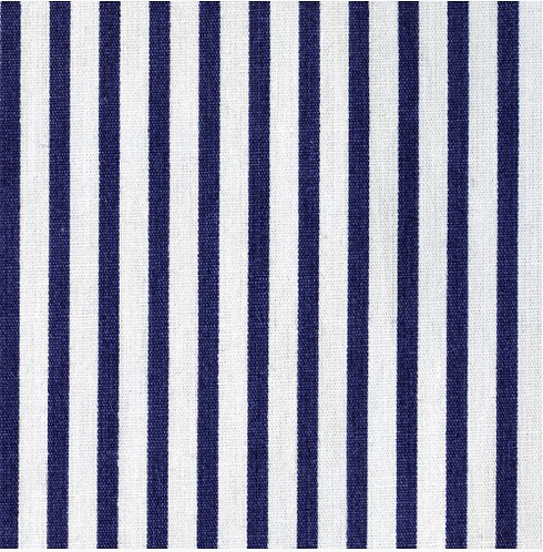 Navy & White Stripes - 3mm Stripe