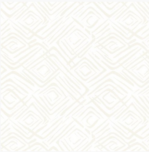 """Quilt Backing Fabric - White on White  108"""" ( 2.80m) Wide"""